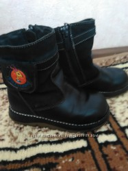 Зимние ботинки мальчику р. 25
