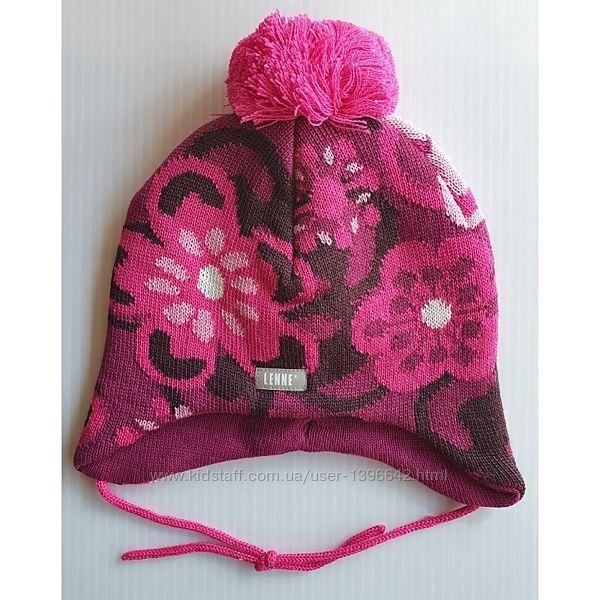 Зимняя шапка для девочки Lenne Cecil 52см Новая коллекция