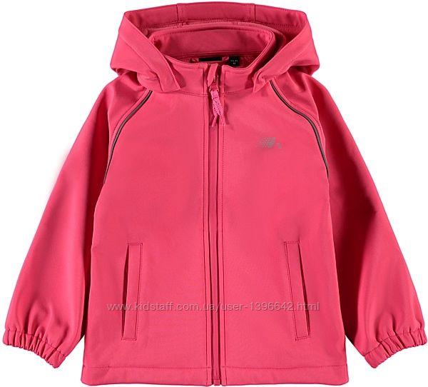 Демисезонная куртка Name It Softshell Alfa Magic print девочке 104-122см