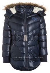 Теплая зимняя куртка-парка на девочку 4-5 лет