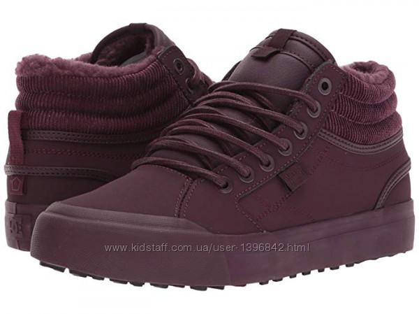 Кроссовки, ботинки, кеды утепленные осенние 34-35р. бренда DC