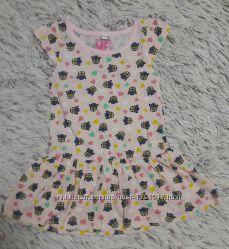 летнее платье с миньенами
