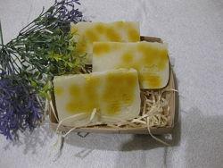 эко мыло ручной работы Рисовое молочко и мёд с нуля