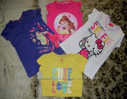 LIDL-LUPILU, Disney, IceAge, Hello Kitty новые футболочки р. 98-104, 110-116
