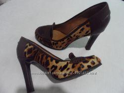 Полностью кожаные туфли Basconi 37 р. Италия