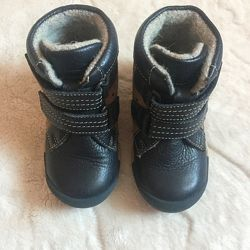 Утеплённые ботиночки кожа shagovita