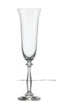 Набор бокалов для шампанского Bohemia Angela 190 мл х 6 шт Подробнее https