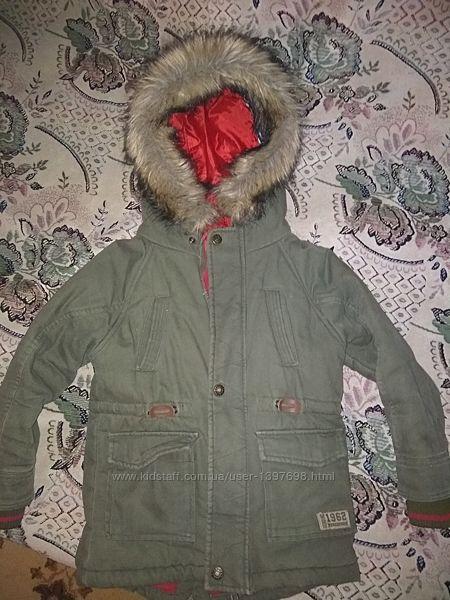 Классная демисезонная парка, куртка