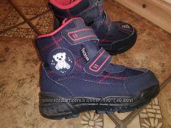 Термосапоги, ботинки осень-зима, раз 24, стел 15, 5