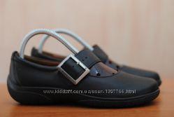 Черные кожаные женские босоножки, туфли Hotter. 37 размер. Оригинал
