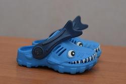 Голубые детские сабо, шлепанцы, сандалии Next. 20 размер. Оригинал