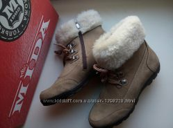 Новые ботинки mida р. 39 100 натуральный нубукнатуральная овчина