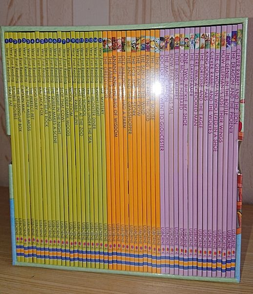 50 книг на английском языке для детей Usborne My First Reading Library