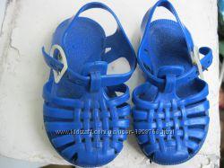 детские  босоножки сандалики р 21Силиконовые