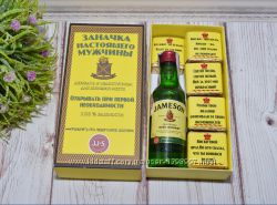 Мужской подарочный набор с виски Джеймсон Jameson
