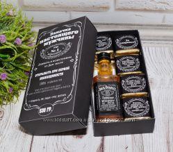 Мужской подарочный набор с виски Джек дениелс Jack Daniels