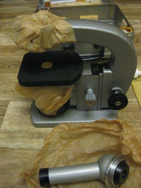 Новый микроскоп профессиональный в ящике ЛОМО МБД-1