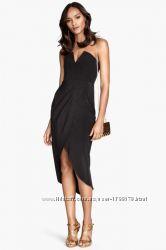 Очень красивое и стильное коктейльное вечернее платье H&M