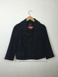 Элегантный стильный шерстяной тёплый жакет блейзер пиджак H&M