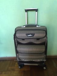 Маленький тканевый чемодан Transit 56 см 45 л легкий расширение 5 см