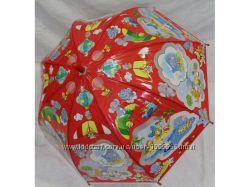 Яркие детские зонты купол детская трость