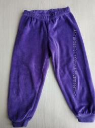 Велюрові штани Lupilu 80-86см.
