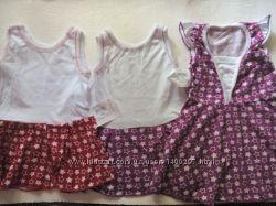 Новые платья на малышей 9 - 1. 5 лет 100  коттон