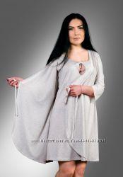 Халат женский в комплекте с ночной сорочной