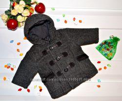 Демисезонный жакет, пальто на 3-6