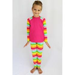 Піжама дитяча з штанами та кофтою розміри 28 98см. 32 122см.