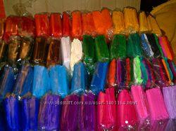 Бумага креповая гофрированная цветная гофро папір кольор гафрований крепови
