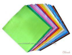 Флексика Фоамиран А4 размера разноцветный пластичная замша фоамарин