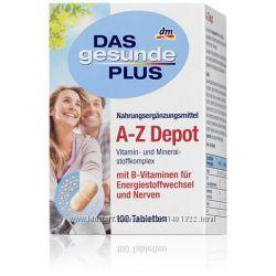 Витаминный комплекс DM A-Z Depot 100 табл. до 50 лет и после 50 лет