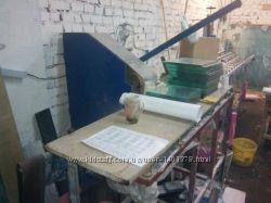 Ленточный станок бу для обработки и полировки стекла
