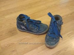 Демисезонные ботинки кроссовки хайтопы Richter
