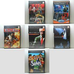 Игровые Диски для Sony PlayStation 2 PS2