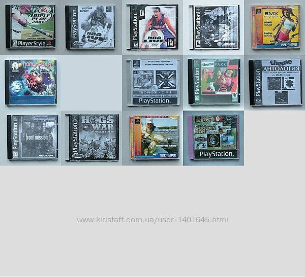 Диски с Играми для Sony PlayStation 1 / PS1
