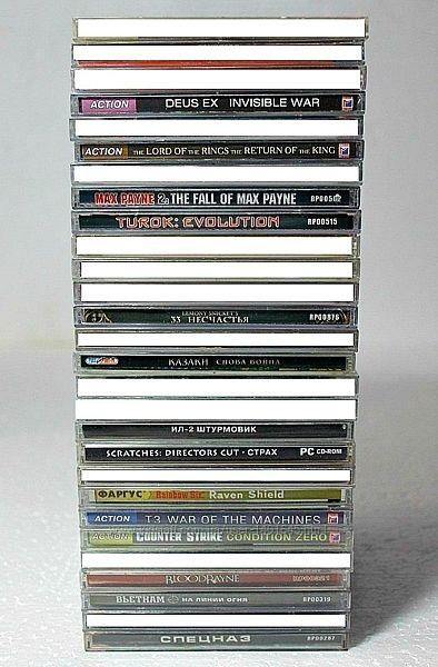 Игровые Диски для PC / ПК Игры CD
