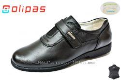 Кожаные туфли в школу для мальчиков