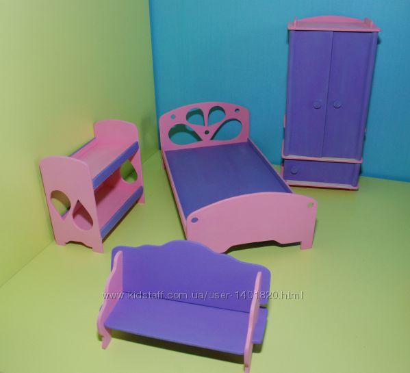Мебель в кукольный домик - KidStaff