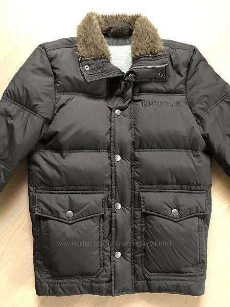 Куртка пуховик 12-14 лет