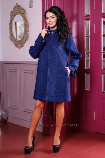 Большой выбор женских деми пальто, есть большие размеры