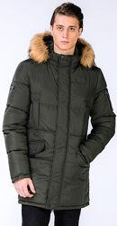 Зимние мужские парки, куртки, пуховики