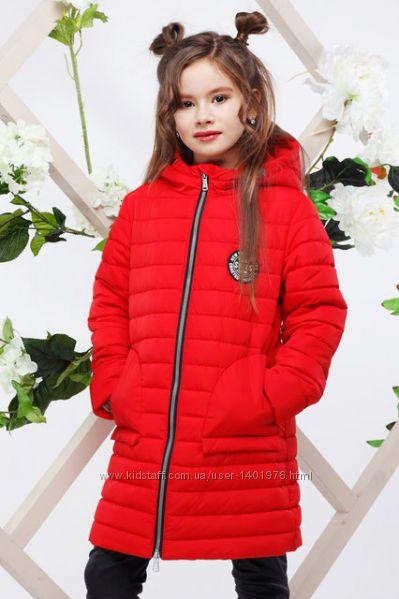 Удлиненная курточка на девочку, осень-весна