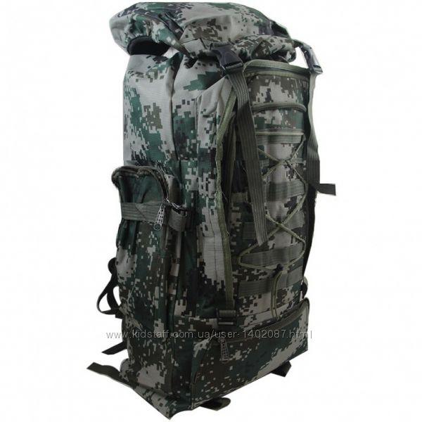 Рюкзак туристический 50 литров камуфляж