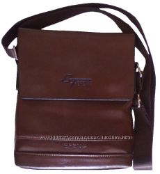 0c99a7bcd9df Сумка планшет мужская через плечо коричневая 23х19х5 см, 350 грн ...