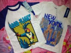 Новые футболки для мальчика 6-8 лет.