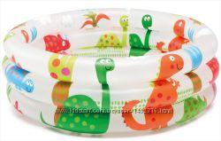 Детский надувной бассейн Intex 57107 Динозавры