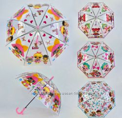 Очень красивые зонтики-трость ЛОЛ