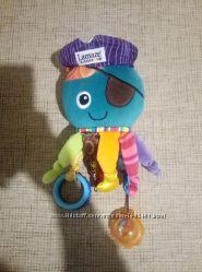 Подвеска-растяжка ёжик Tiny love, lamaze осминог, павлин, chicco fisher pri